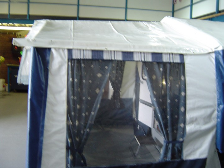 T V S Acrylic Awning Used Riva Dandy Camper Dandy